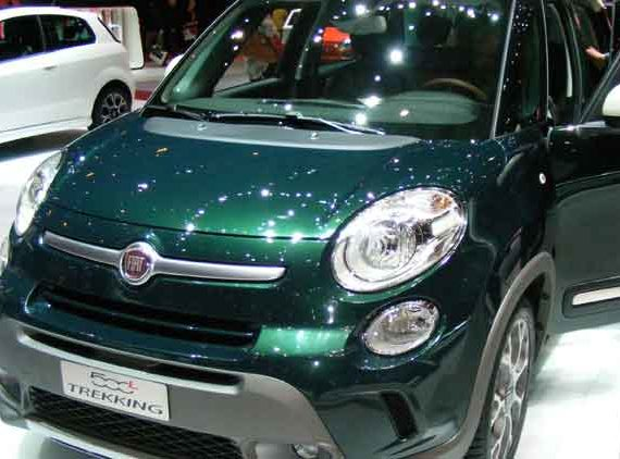 Fiat 500L In Showroom Reday to Lease