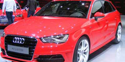 Typical Audi A3 Showroom For Lease