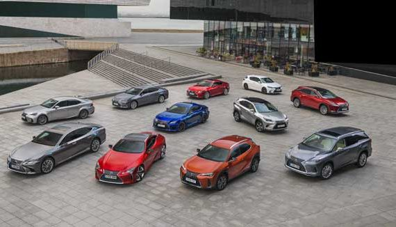 UK range Lexus Cars