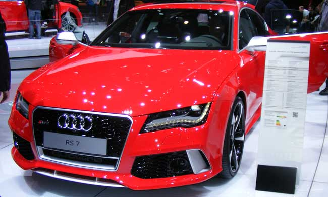 audi in showroom condition